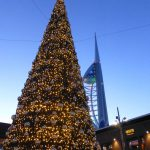 External 12m Tree Gunwharf Quays Portsmouth