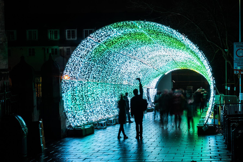 Norwich Tunnel of light-10
