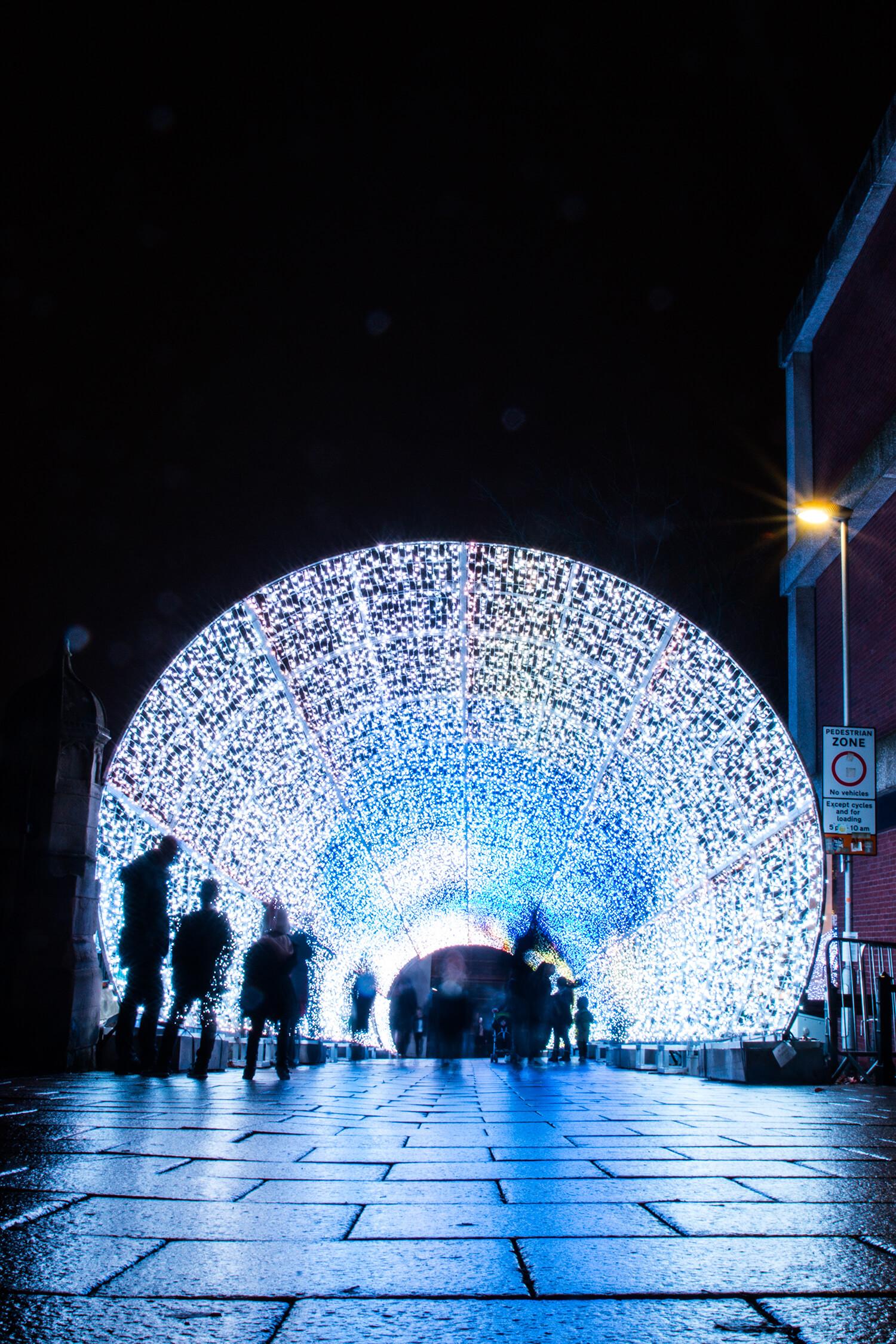 Norwich Tunnel of light-12