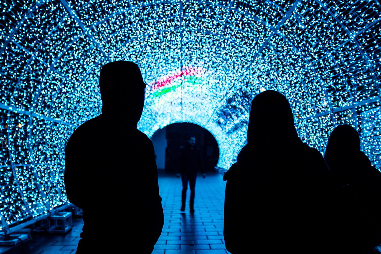 Norwich Tunnel of light-21