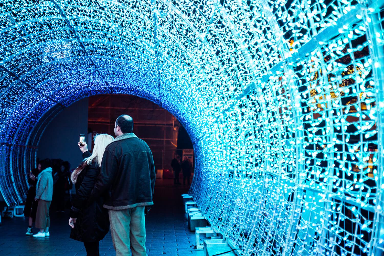 Norwich Tunnel of light-23