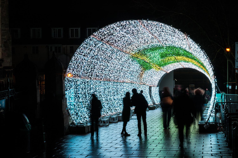 Norwich Tunnel of light-9