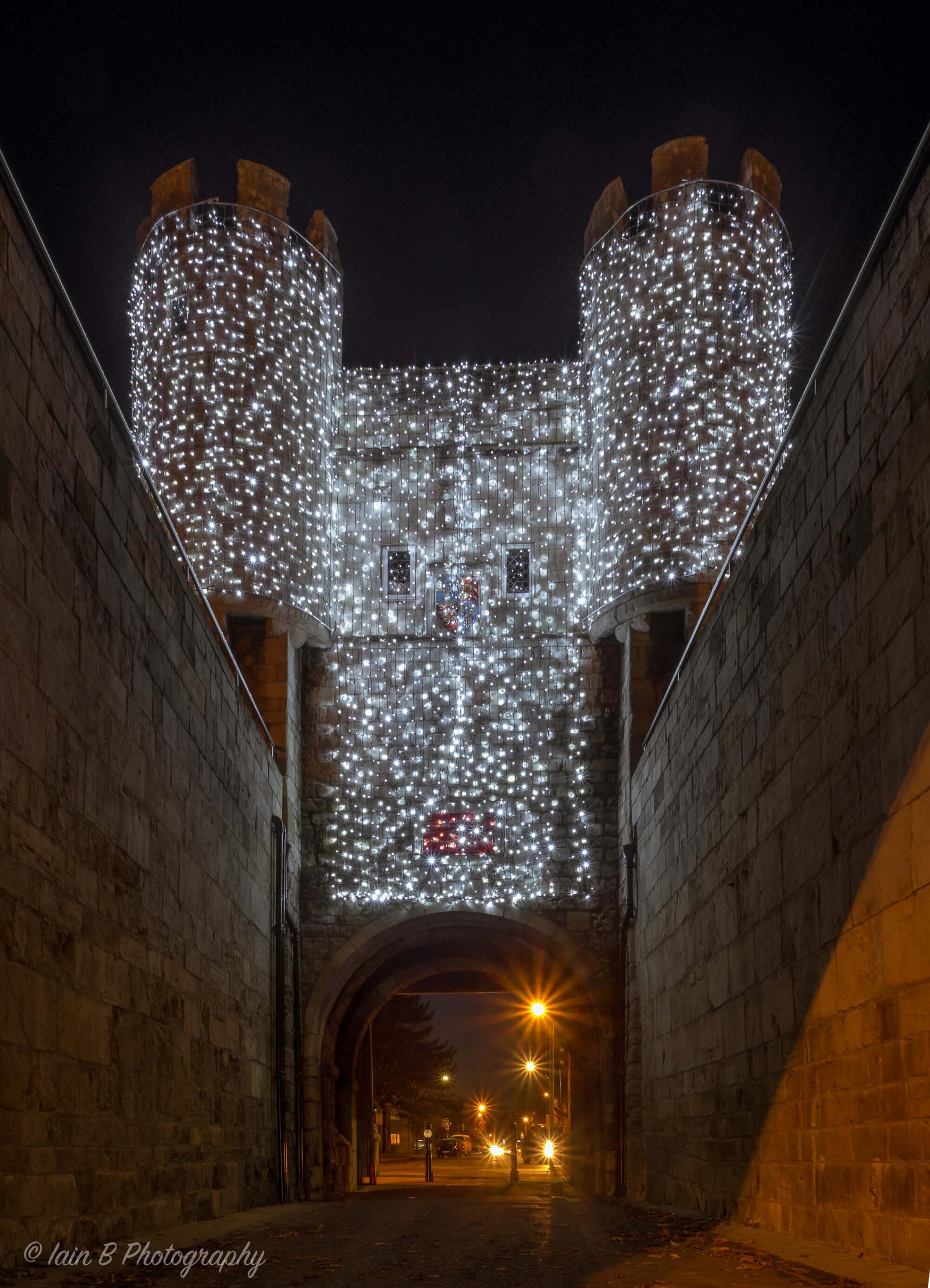 York Walls in Lights