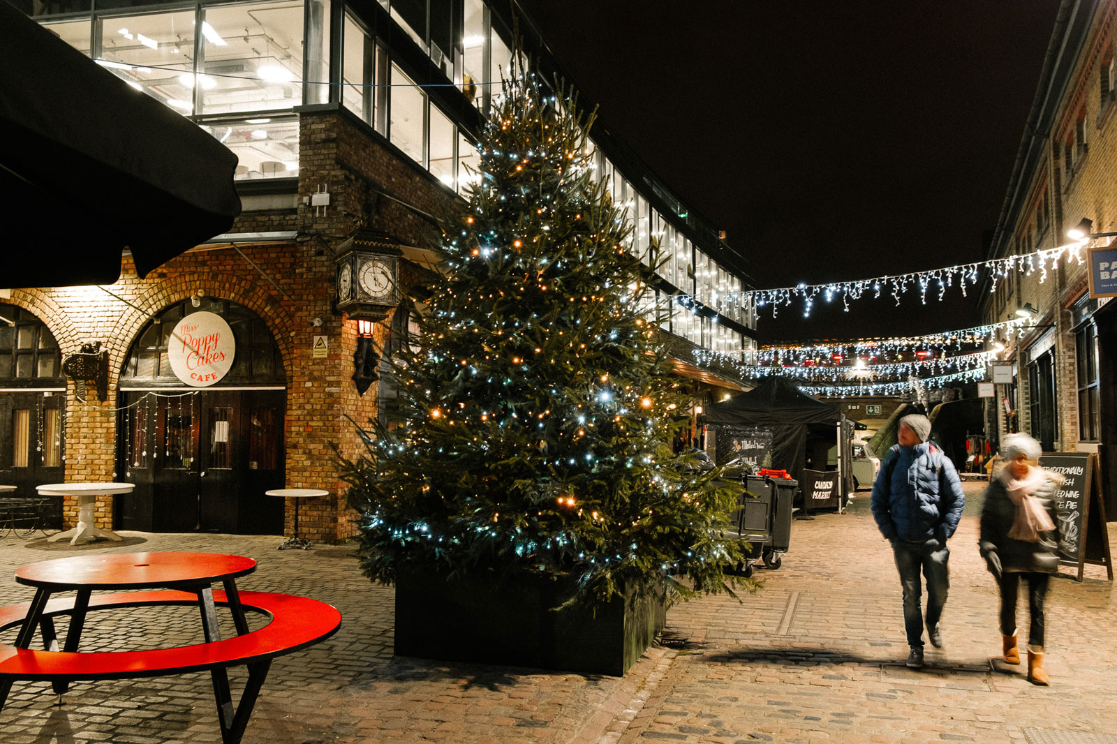Christmas in Camden Market