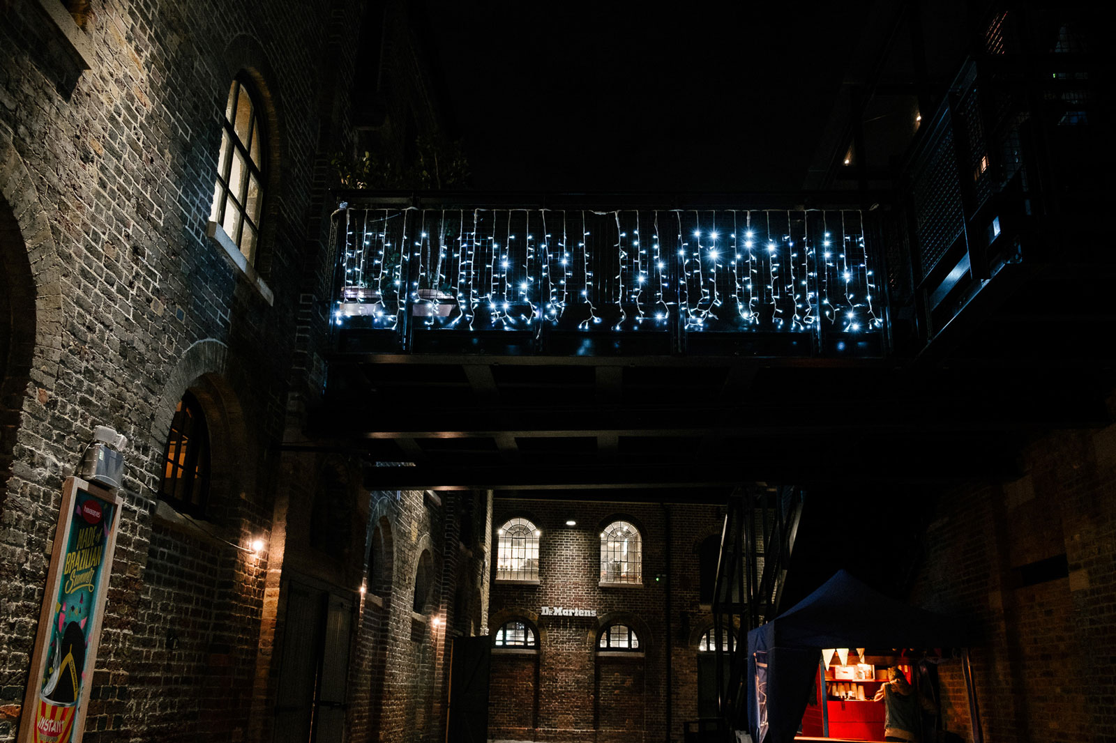 camden market hanging lights