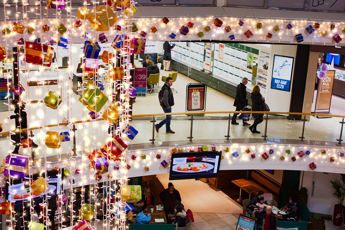 Shopping Centre lighting