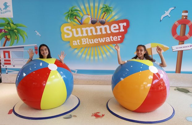 beach ball photo op