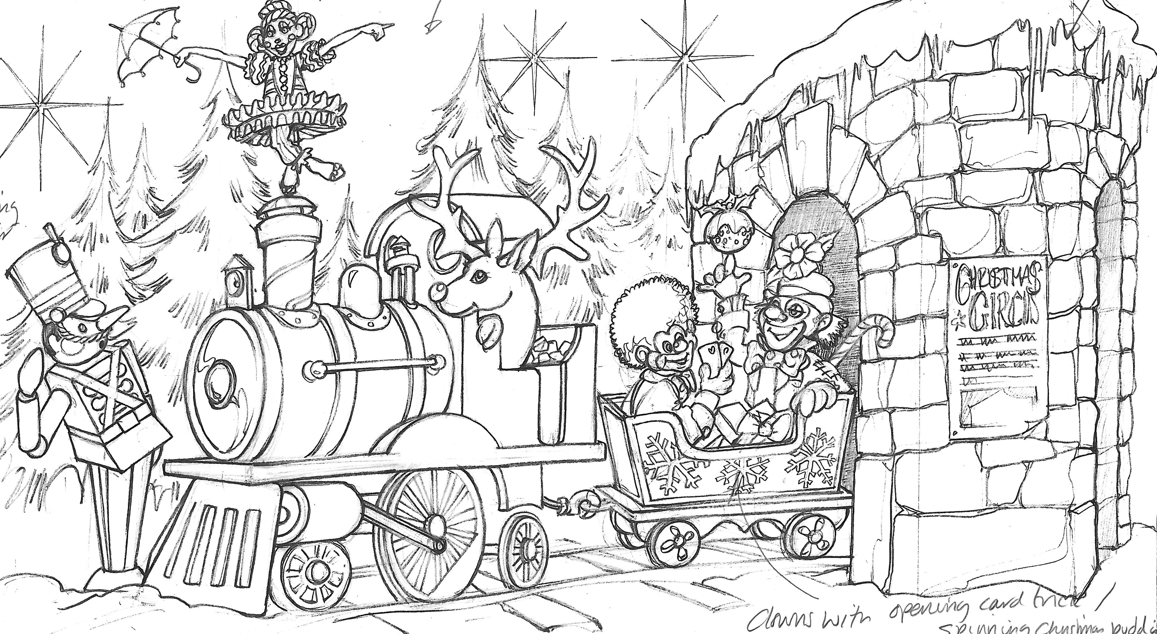Fenwick Christmas Window Concept