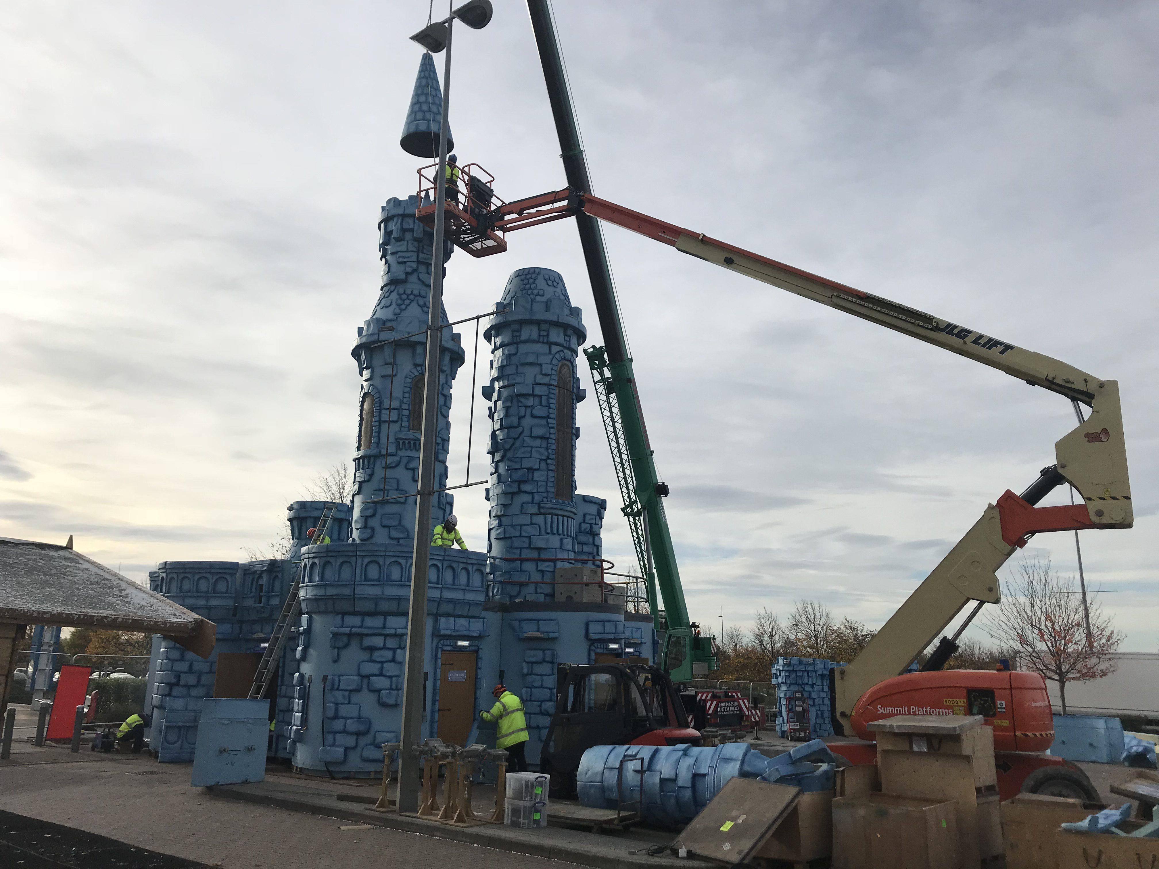 Castle Towers Build