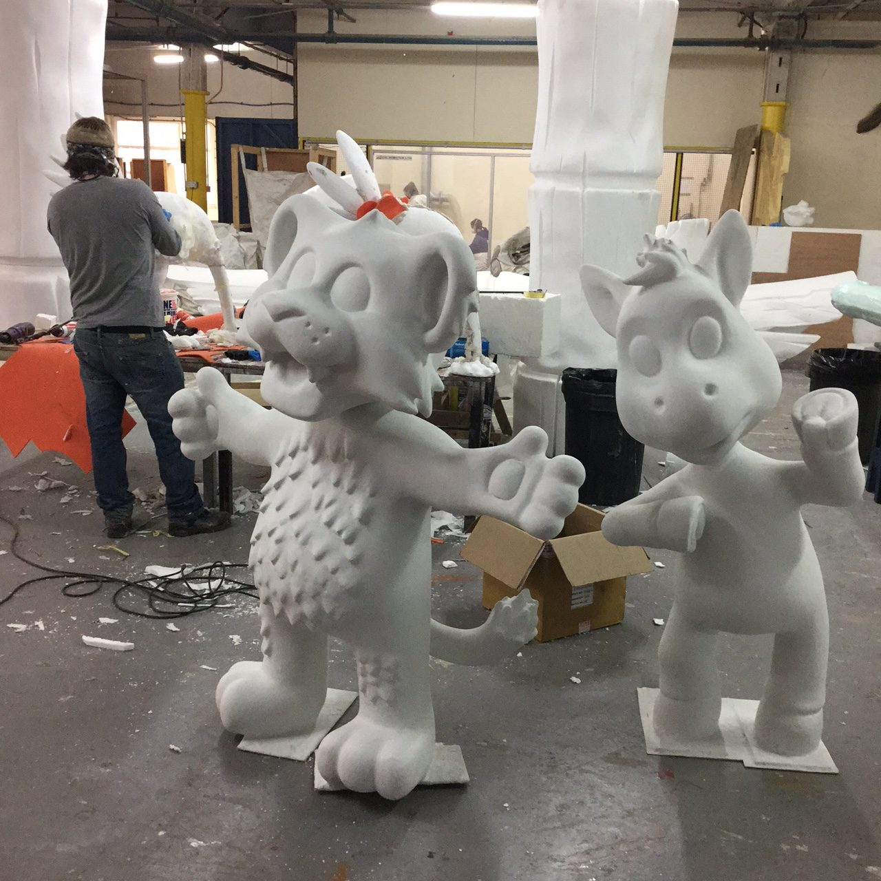 sculpting characters